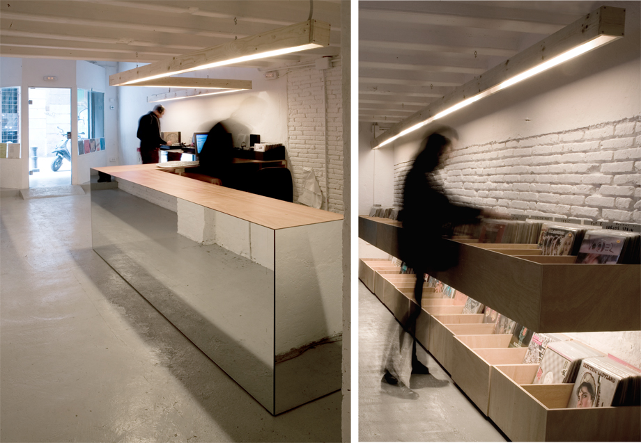 Interiorismo discos paradiso barcelona arquitectura g - Interiorismo barcelona ...