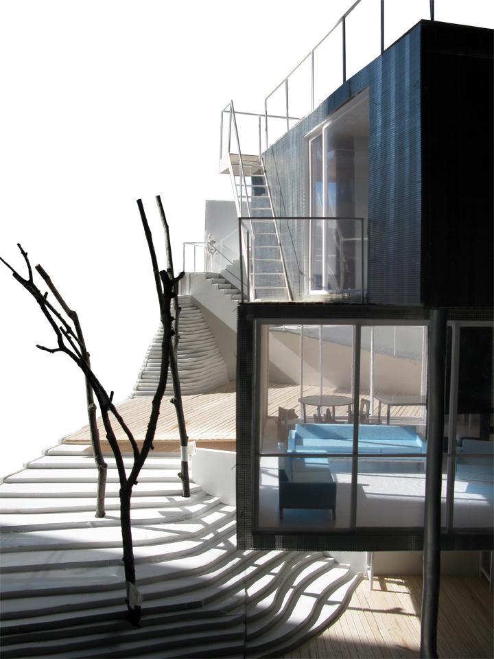 Vivienda unifamiliar en la floresta barcelona for Vivienda unifamiliar arquitectura