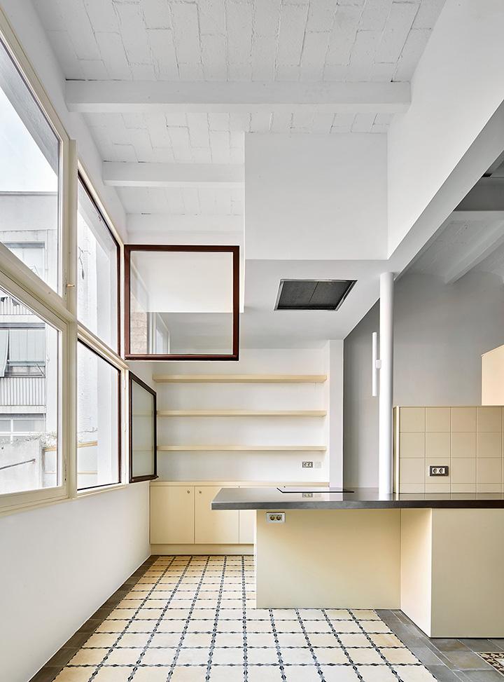 Reforma de una vivienda en la calle mariano cub - Arquitectura barcelona ...