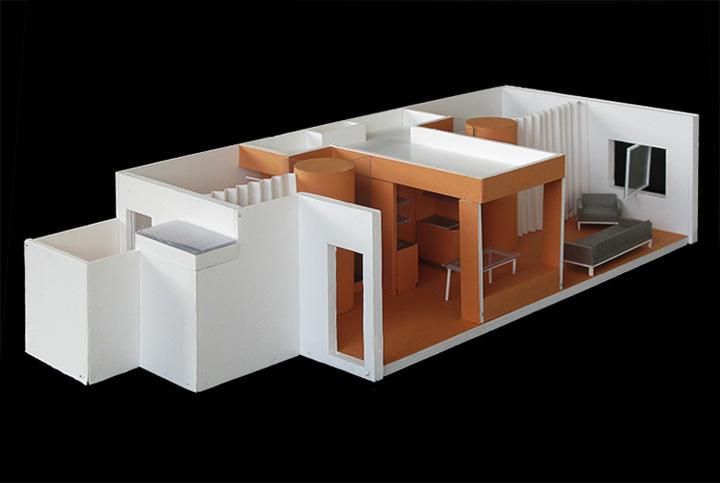 Reforma de una vivienda en c cartagena barcelona - Arquitectura cartagena ...