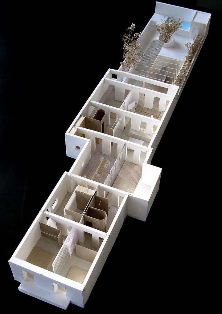 arquitectura-g maqueta vivienda