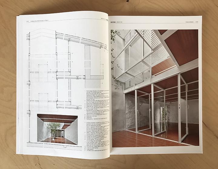 nuestro proyecto casa luz distinguido con el premio mies van der rohe al arquitecto emergente se ha publicado en el nmero de la revista